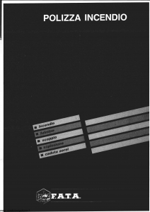 Fata - Polizza Incendio - Modello 12068 Edizione nd [SCAN] [21P]
