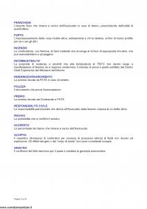 Fata - Stabile Con Fata Polizza Multirischi Del Condominio - Modello 12-516 Edizione 11-2005 [25P]
