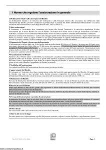 Fondiaria Sai - Albergo 2000 - Modello 10786 Edizione 06-2006 [28P]