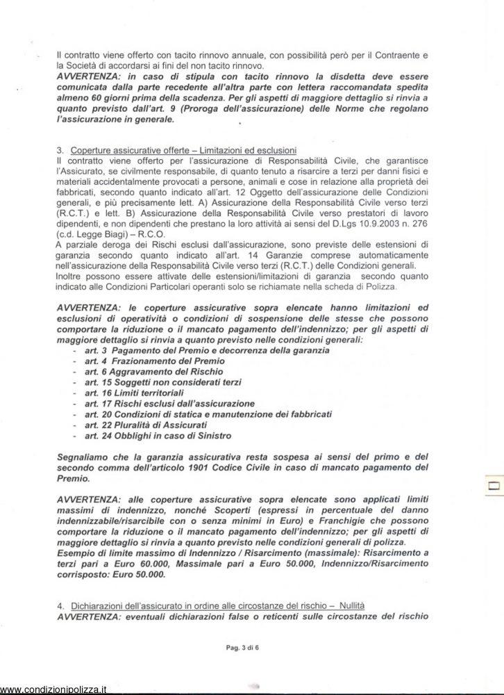 Fondiaria sai archivi pagina 2 di 12 condizioni polizza for Assicurazione rc casa on line