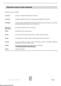Fondiaria Sai - Commercio 2000 Polizza Globale Per Il Commerciante - Modello 10290 Edizione 08-2008 [44P]
