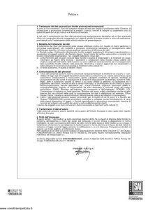 Fondiaria Sai - La Mia Assicurazione Basic Contenuto - Modello 11325 Edizione 02-2007 [16P]