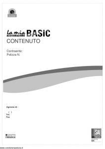 Fondiaria Sai - La Mia Assicurazione Basic Contenuto - Modello 1923 Edizione nd [15P]
