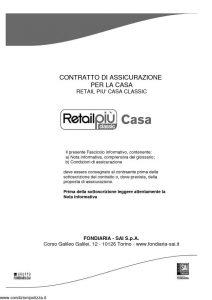 Fondiaria Sai - Retail Piu' Casa Classic - Modello 11538 Edizione 12-2010 [66P]