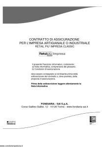 Fondiaria Sai - Retail Più Impresa - Modello 1955 Edizione 03-2011 [84P]