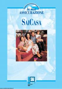 Fondiaria Sai - Sai Casa La Mia Assicurazione - Modello 7157-5 Edizione nd [39P]