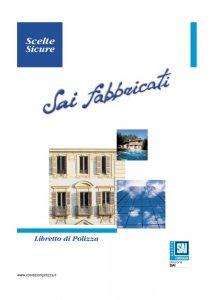 Fondiaria Sai - Sai Fabbricati - Modello 7593-3 Edizione 01-2006 [15P]