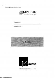 Generali - 6 A Casa - Modello ca12-01 Edizione nd [SCAN] [11P]