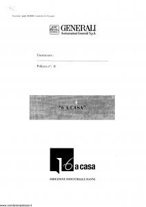 Generali - 6 A Casa - Modello ca13-01 Edizione nd [SCAN] [13P]