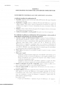 Generali - Assicurazione Incendio E Furto Abitazioni - Modello re12e-01 Edizione nd [SCAN] [18P]