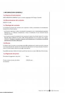 Generali - Fidelity Club - Modello gvfc Edizione 01-03-2009 [72P]