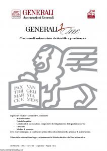 Generali - Generali One - Modello gvgo Edizione 31-05-2011 [30P]