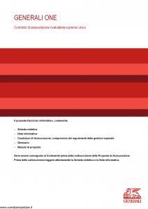 Generali - Generali One - Modello gvgo Edizione 31-05-2014 [30P]