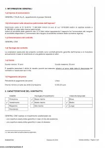 Generali - Generali One - Modello gvgo Edizione 31-05-2016 [50P]
