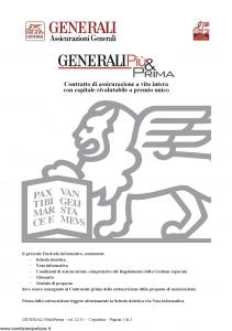 Generali - Generali Piu' & Prima - Modello gvgpp Edizione 12-2011 [28P]