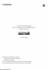 Generali - Generali Sei A Casa - Modello ca99-04 Edizione 21-09-2013 [SCAN] [86P]