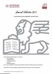 Generali - Generali Selection 2010 - Modello gvgs10 Edizione 19-06-2010 [44P]