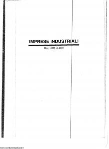 Generali - Imprese Industriali - Modello 16023 Edizione 2001 [13P]