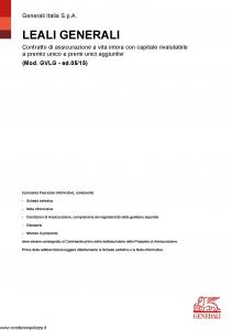 Generali - Leali Generali - Modello gvlg Edizione 05-2015 [46P]