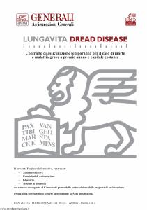 Generali - Lungavita Dread Disease - Modello gvpvdd Edizione 09-2012 [24P]