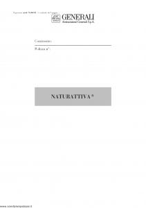 Generali - Naturattiva Sezione Bestiame - Modello na06-01 Edizione nd [9P]