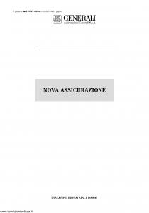 Generali - Nova Assicurazione - Modello 09-e02 Edizione nd [22P]