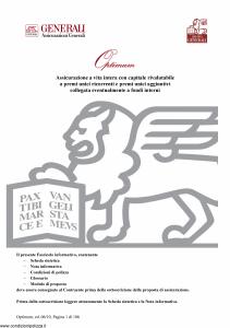 Generali - Optimum - Modello gvopt Edizione 19-06-2010 [96P]