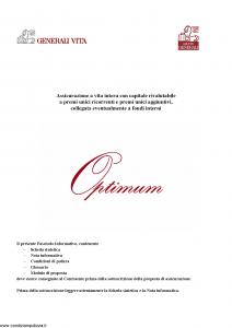Generali - Optimum - Modello gvopt Edizione 28-11-2006 [96P]