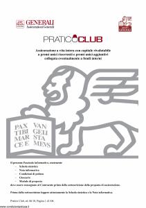 Generali - Pratico Club - Modello gvpc Edizione 19-06-2010 [96P]