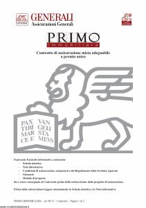 Generali - Primo Immobiliare - Modello gvimm Edizione 09-2012 [30P]