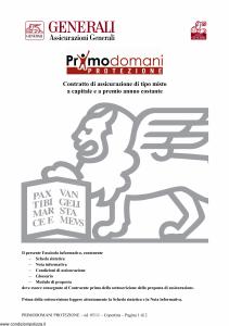Generali - Primodomani Protezione - Modello gvpdpr Edizione 31-05-2011 [28P]