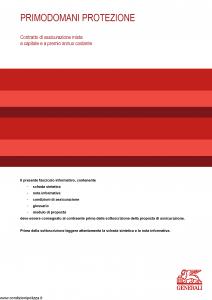 Generali - Primodomani Protezione - Modello gvpdpr Edizione 31-05-2014 [34P]
