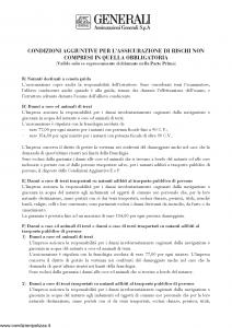 Generali - Rc Natanti Condizioni Aggiuntive - Modello nd Edizione nd [3P]