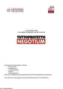 Generali - Tutto Protetto Negotium - Modello gvtpn Edizione 31-03-2007 [56P]