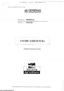 Generali - Valore Agricoltura - Modello va05-02 Edizione nd [SCAN] [18P]