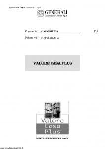 Generali - Valore Casa Plus - Modello vp08-01 Edizione nd [11P]