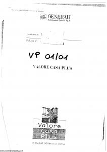 Generali - Valore Casa Plus - Modello x04-150 Edizione 07-1993 [SCAN] [36P]