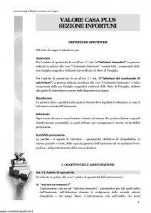 Generali - Valore Casa Plus Sezione Infortuni - Modello vp10-01 Edizione nd [10P]