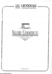 Generali - Valore Commercio - Modello pi48-40 Edizione 09-1994 [SCAN] [60P]