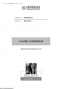 Generali - Valore Commercio - Modello pi48e-02 Edizione 07-2003 [58P]