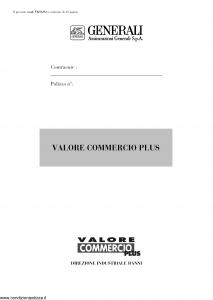 Generali - Valore Commercio Plus - Modello vk06-02 Edizione nd [42P]