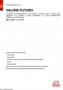 Generali - Valore Futuro - Modello gvvf Edizione 07-2017 [92P]