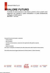 Generali - Valore Futuro - Modello gvvf Edizione 12-2014 [157P]