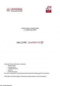 Generali - Valore Garantito - Modello gvvg Edizione 16-05-2008 [44P]
