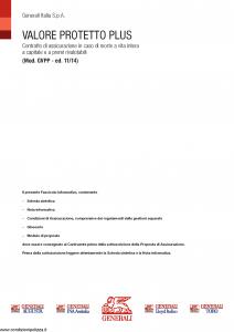 Generali - Valore Protetto Plus - Modello gvpp Edizione 11-2014 [58P]