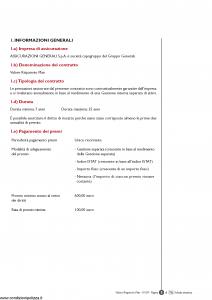 Generali - Valore Risparmio Plan - Modello gvripl Edizione 01-2007 [56P]
