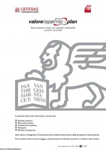 Generali - Valore Risparmio Plan - Modello gvripl Edizione 03-2007 [56P]