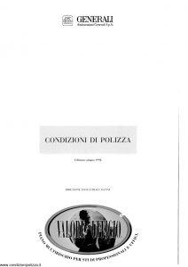 Generali - Valore Ufficio - Modello ia51 Edizione 06-1998 [SCAN] [44P]