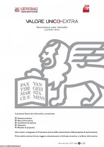 Generali - Valore Unico Extra - Modello gvux Edizione 31-03-2007 [44P]