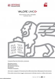 Generali - Valore Unico - Modello gvu Edizione 31-03-2007 [44P]